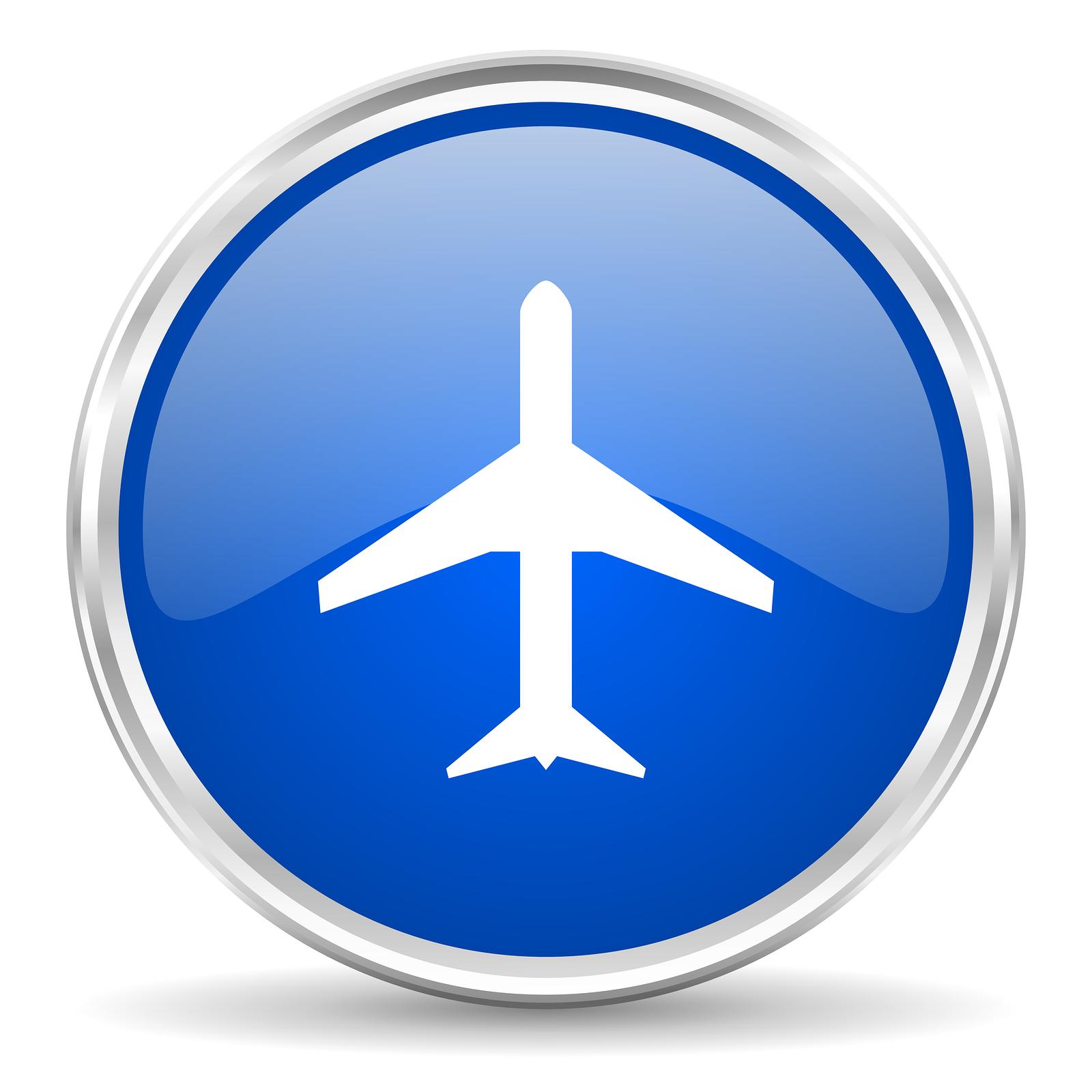 bigstock-plane-icon-55891202